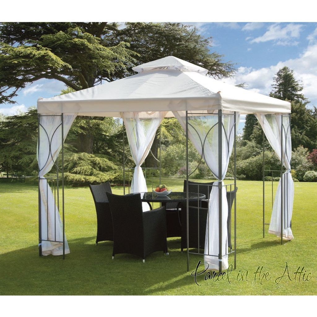 Contemporary Garden Gazebo 2 5x2 5m Parcel In The