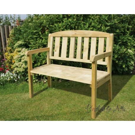 solid wood 4ft garden bench parcel in the attic lifestyle home