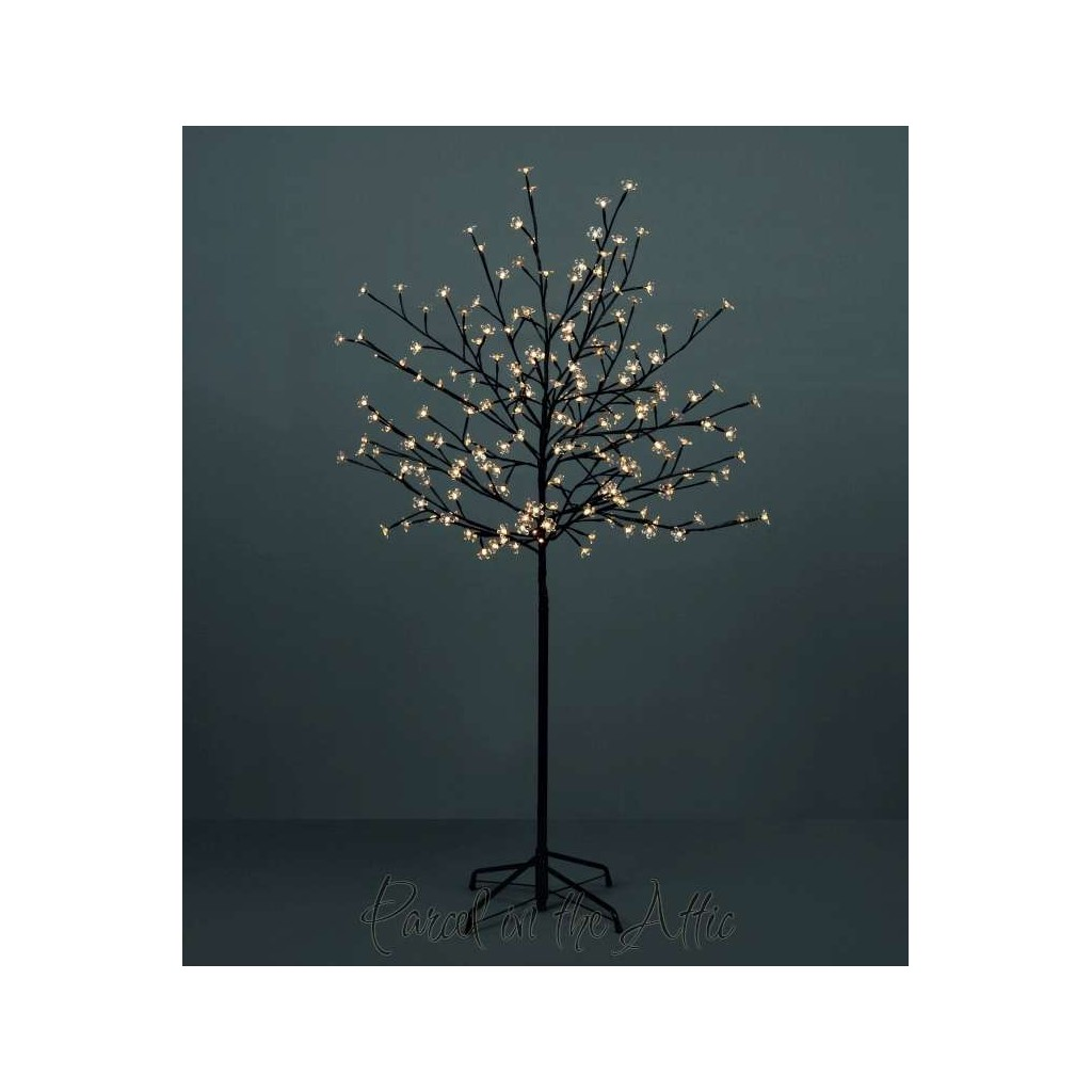 outdoor blossom tree led lights. 180cm/6ft outdoor cherry blossom tree - 180 warm white led fairy lights led