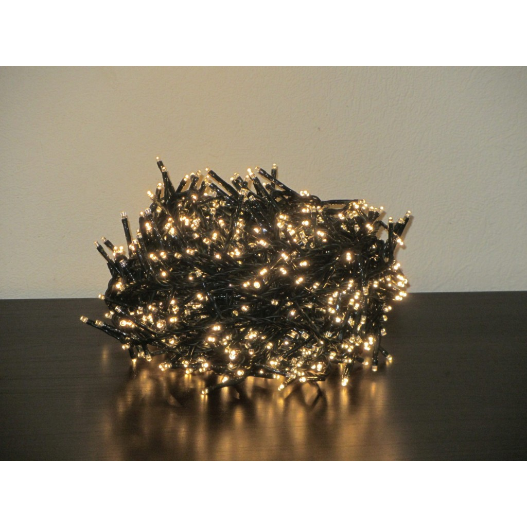 1500 Bulbs Christmas Fairy String Twinkle Warm White LED